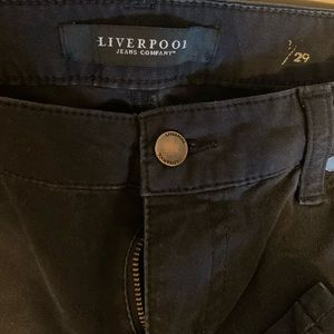 Women's LiverPool high rise Jeans company 8/29